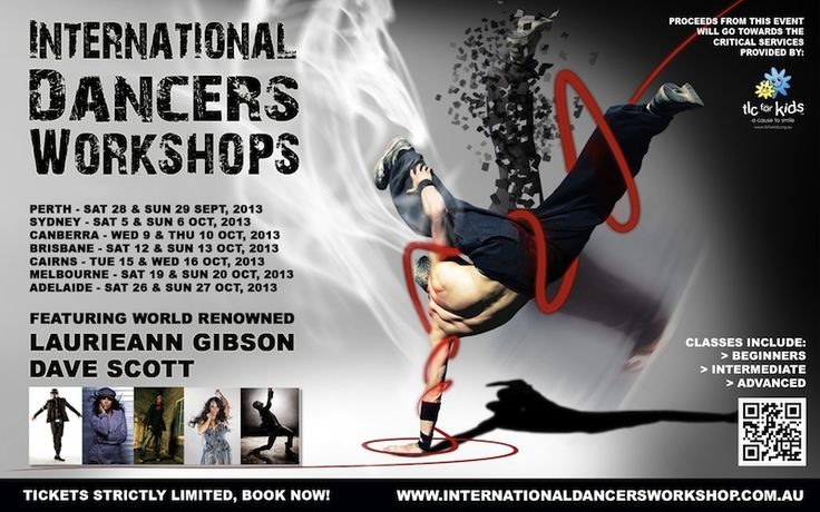 International Dancers Workshop touches down in Canberra on October 9th!