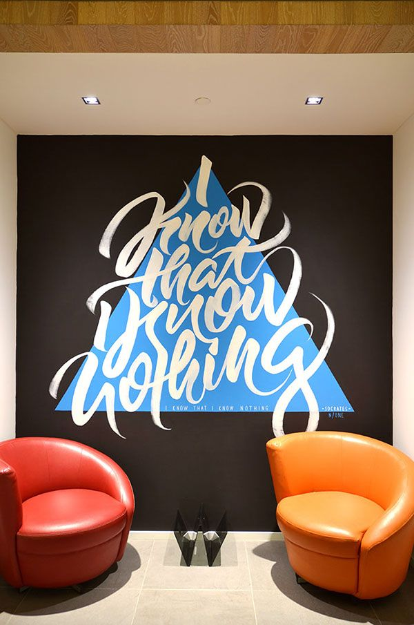 Our artists Ninja1 and Rems182 painted these meeting niches at VF headquarter offices in Switzerland.