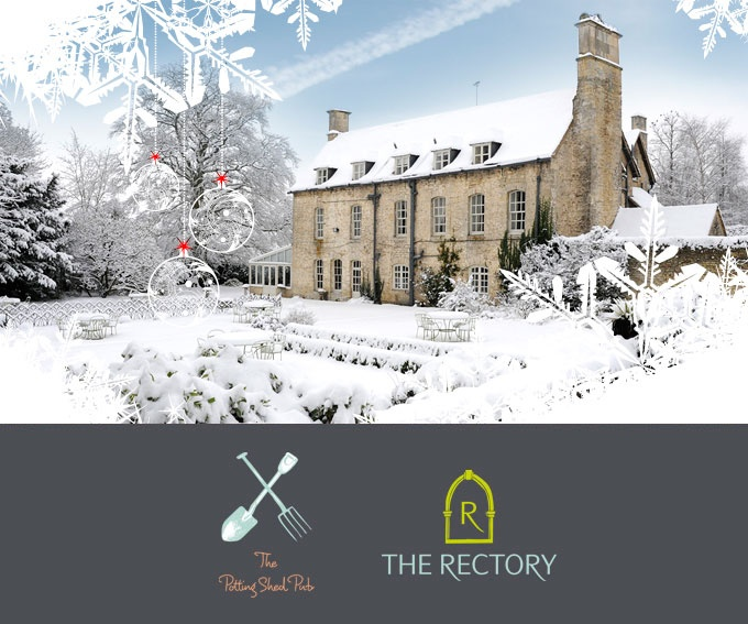 The Rectory in Malmesbury, where I wish I could spend Christmas...