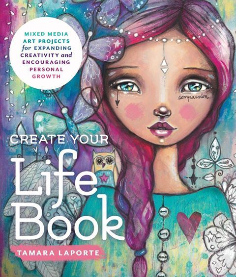Join me in Life Book 2018. Click for more info an take advantage of 20% off now through January 16th. This is an amazing value!   https://hippieartist.com/life-book-art-journaling/  #ArtJournaling #TamaraLaport #Lifebook2018  https://hippieartist.com/life-book-art-journaling/