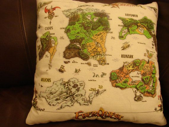 $20.00. An awesome handmade EverQuest pillow. Perfect gift for a nerd.