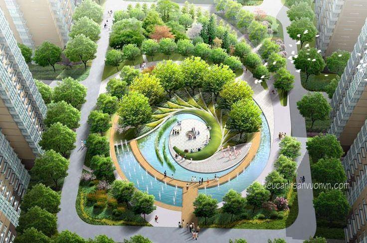 Thiết Kế Khuon Vien Cảnh Quan San Vườn Toa Nha San Vườn Cảnh Quan Tiểu Cảnh Urban Landscape Design Landscape Architecture Plan Landscape Architecture Park