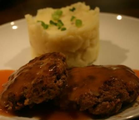 Traditional Australian Rissoles based here on my grandmothers recipe. Beef mince rissoles and simple sauce for an easy midweek meal. Easy to double up and freeze. I have served this simply with creamy mash but would be nice with fries or veg and salad also