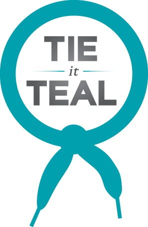 Ovarian Cancer Awareness Month is September. Teal can be worn any day in September.