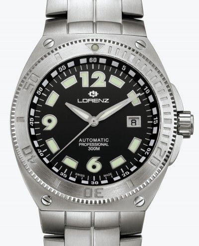 Lorenz Aquitania Diver Titanium - luxury watches online
