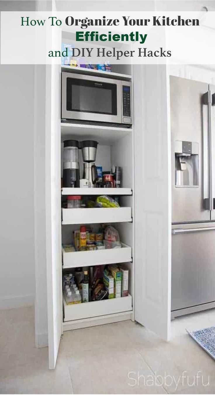 How To Organize Your Kitchen Efficiently With Images Kitchen