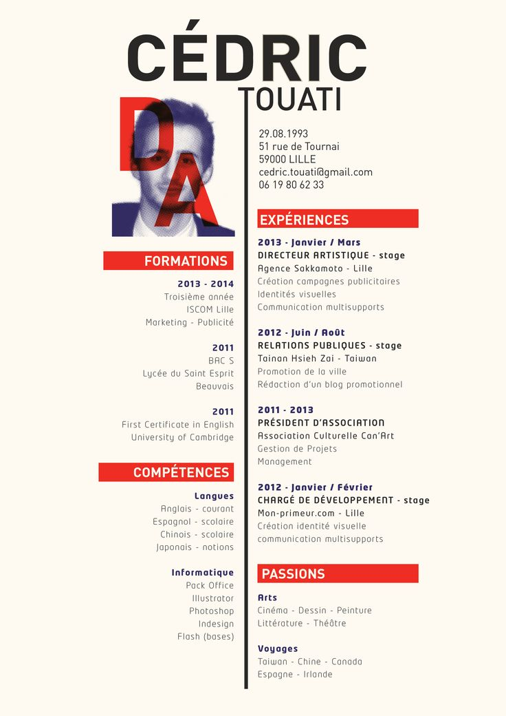 art director resume samples