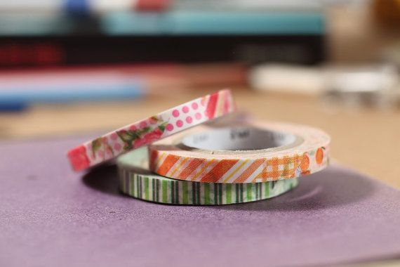 MT Washi Tape MT Slim Deco D Japanese Masking Tape MT Slim