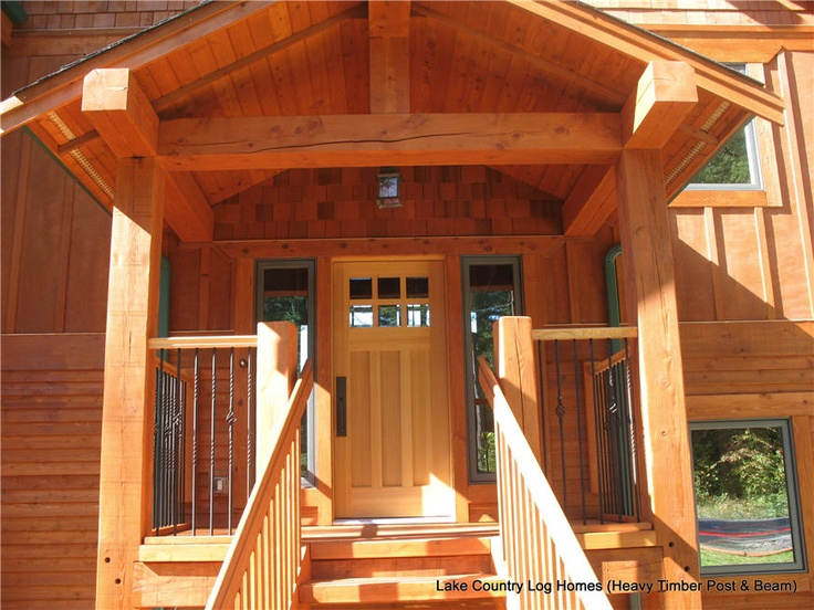 24 best images about house porch timber frame on for Timber frame porch designs