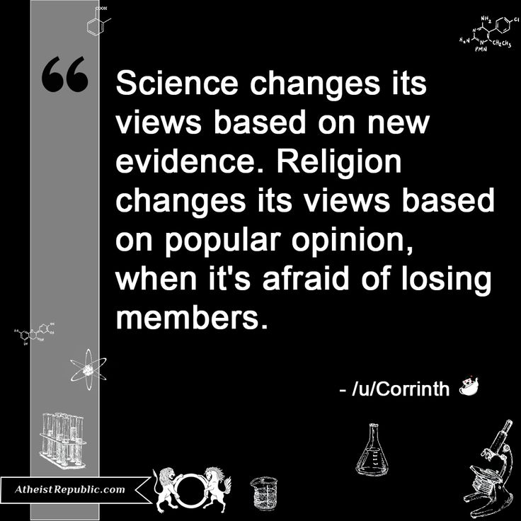 the importance of religious ideas and scientific evidence Are religious beliefs sometimes conducive to science, or do they inevitably pose   as further evidence for a formative role of christianity in the.