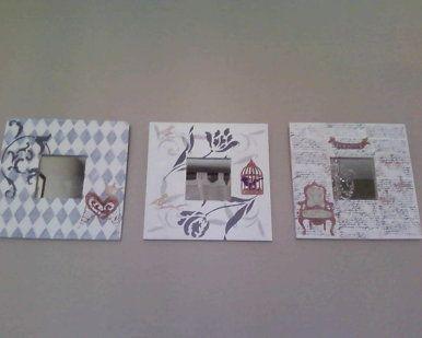 Bricolaje - manualidades con Sellos, Stencil, Stucco, Decoupage y todo lo que me encuentro a mano