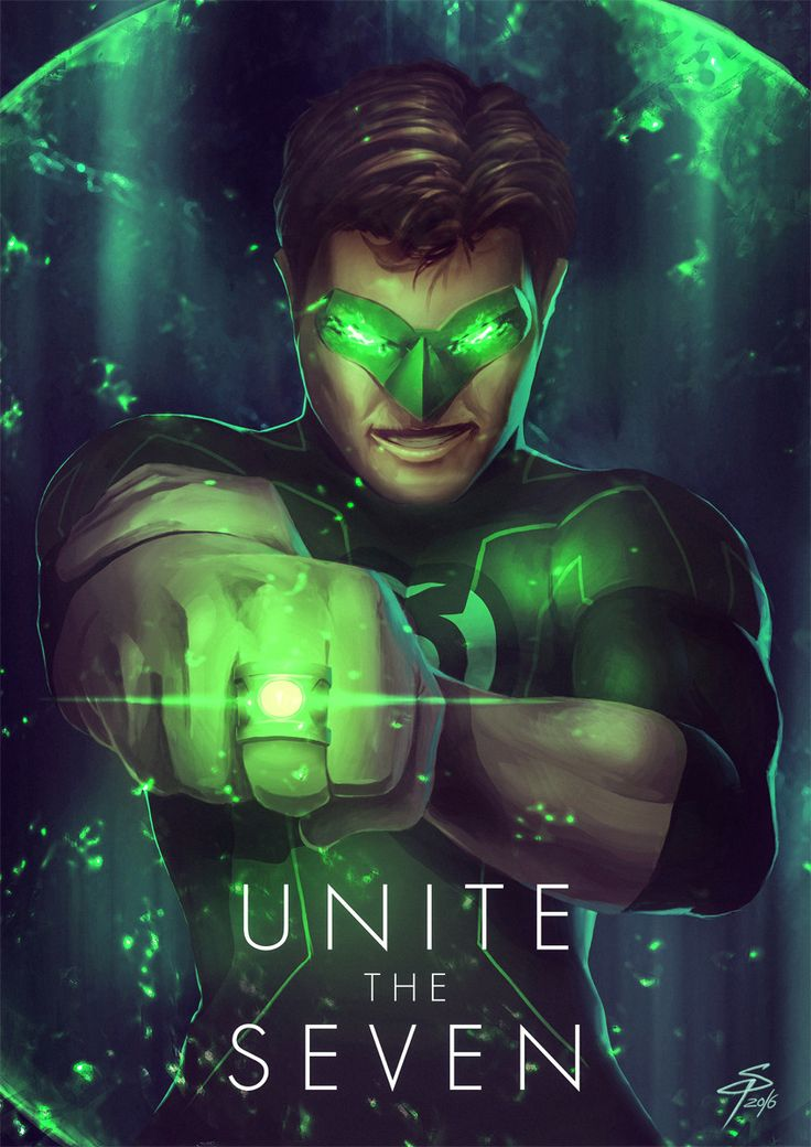 Green Lantern, Simon Pape on ArtStation at https://www.artstation.com/artwork/WbZAv