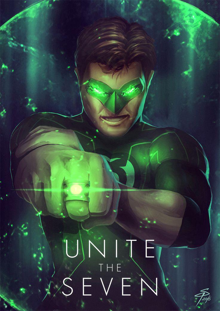Green Lantern, Simon Pape on ArtStation at https://www.artstation.com/artwork/WbZAv