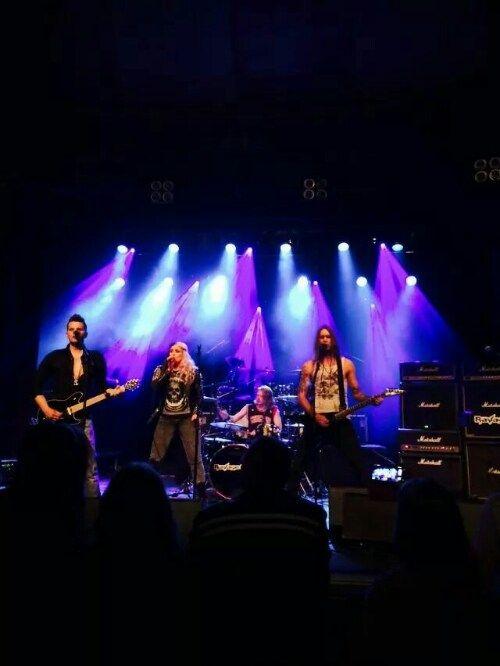 Gig at Samfundet, Trondheim #live #support #Ravagerose for #NordicBeast