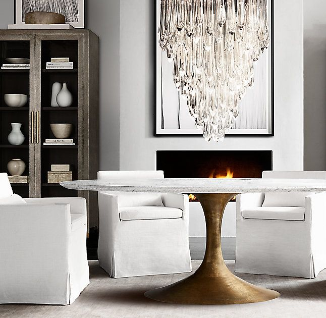 25 best ideas about Oval dining tables on Pinterest  : 22d598bec002fa7472d537272c953664 from www.pinterest.com size 646 x 630 jpeg 76kB