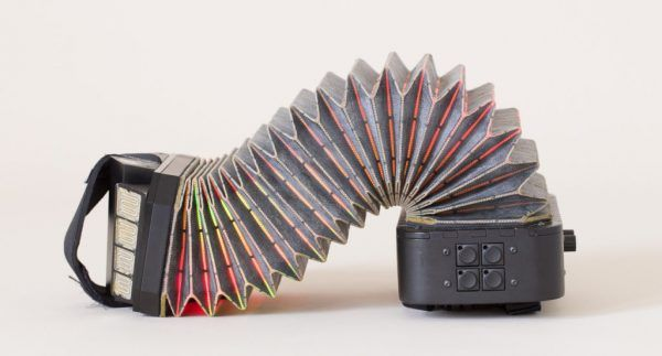 PushPull Is a Crazy Futuristic Squeezebox Instrument You Can Make. Basically, accordion meets synthesizer. Sort of.