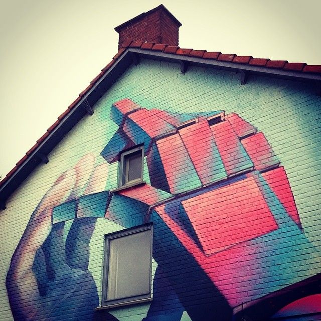 ralfvdz's photo - Streetart wallpainting