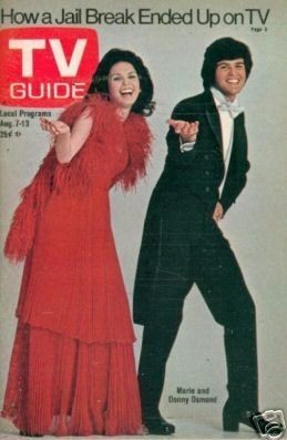 Donny Osmond - TV Guide Magazine [United States] (7 August 1976)