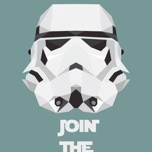 Plakat na ścianę Szturmowiec - Gwiezdne Wojny od NUNU BABA
