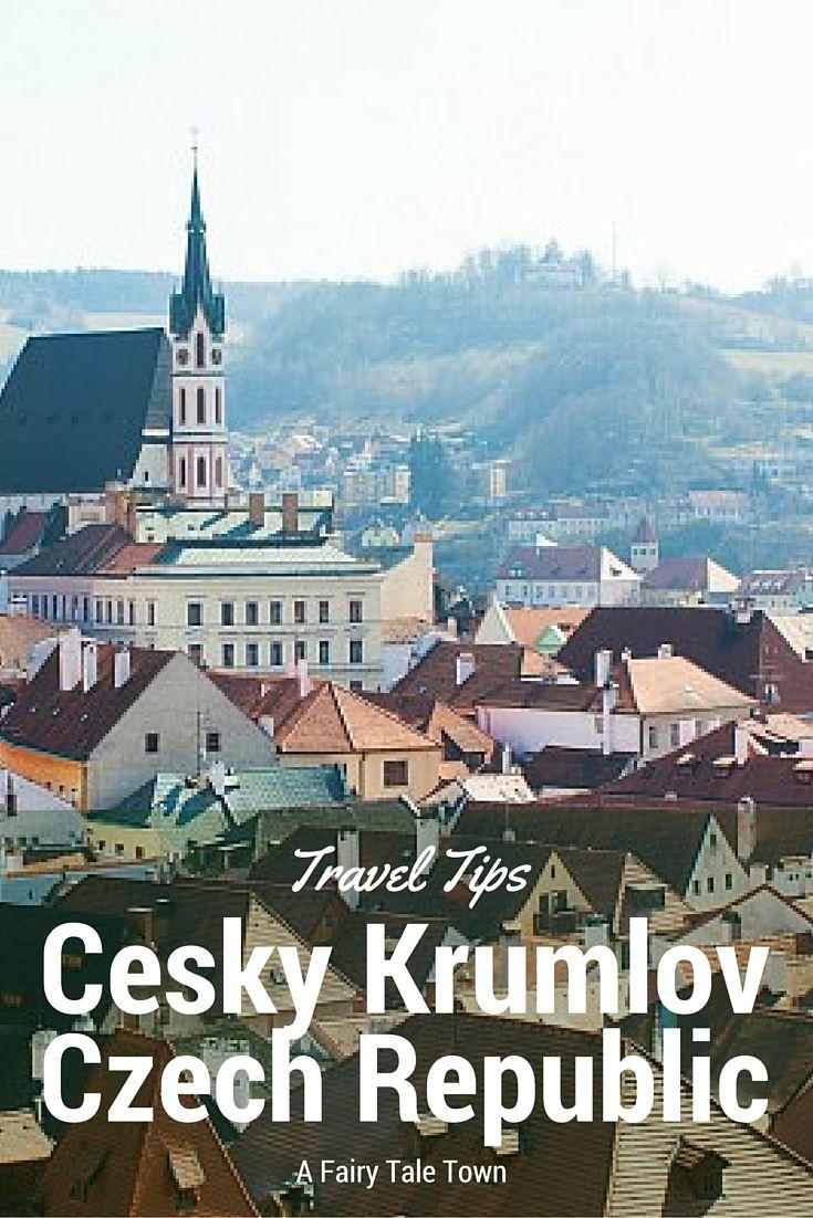 Quyen describes Cesky Krumlov as a fairy tale town direct from Disneyland to real life! Here are reasons to visit Cesky Krumlov http://solotravelerblog.com/solo-travel-destination-cesky-krumlov-czech-republic/