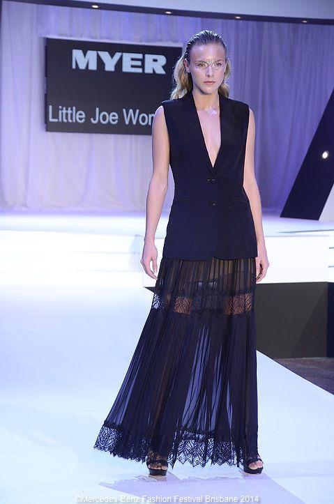 Lady-like pleats with a twist from Little Joe.