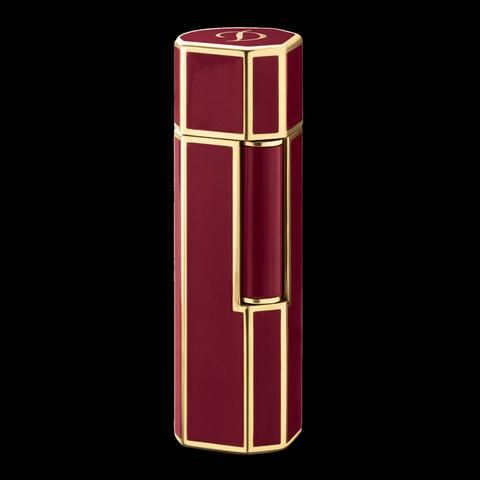 S.T. Dupont Mon Dupont - Lotus red lacquer and gold plated