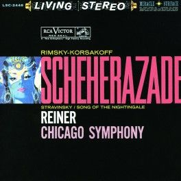 Fritz Reiner Rimsky-Korsakov Scheherazade LP 200 Gram Vinyl Analogue Productions Sterling QRP USA - Vinyl Gourmet