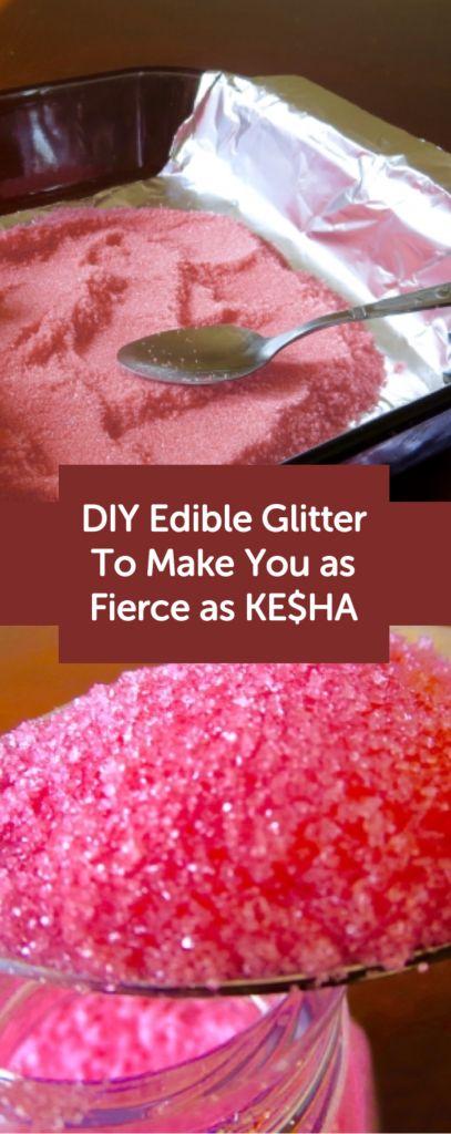 DIY Edible Glitter to Make Your Desserts as Fierce as Kesha