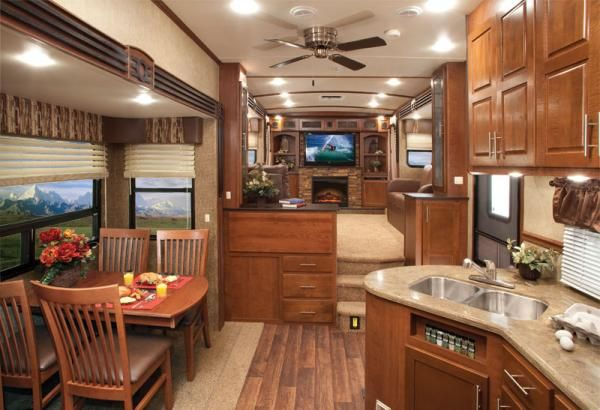 Ya call this a 5th wheel rving 0 pinterest - Front living room fifth wheel used ...