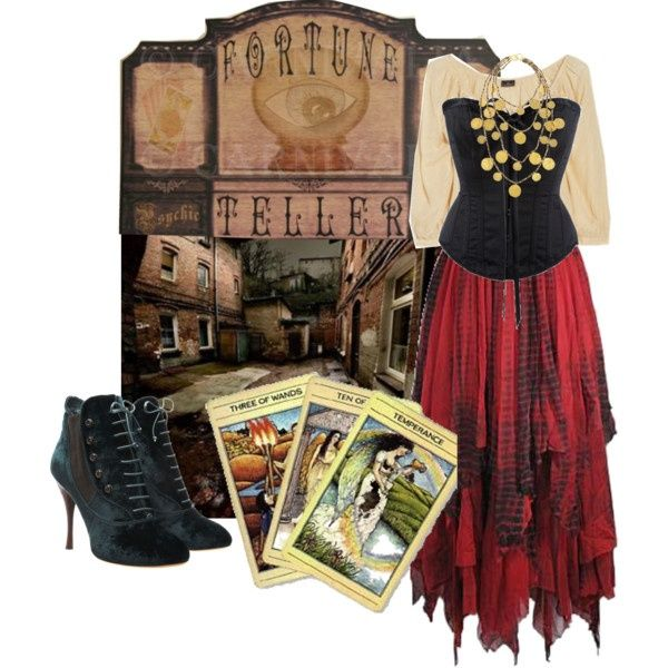 """Fortune telling costume 