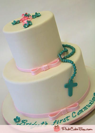 First Holy Communion Cake with