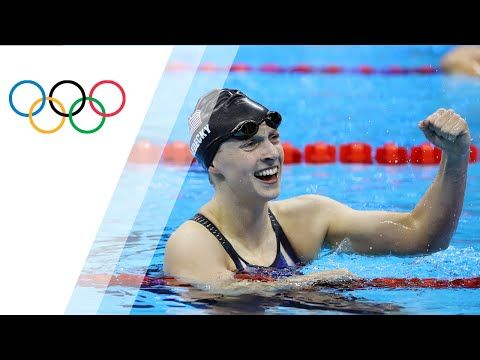 KATIE LEDECKY IS, QUITE SIMPLY, IN A CLASS OF HER OWN. THE 19-YEAR-OLD FROM WASHINGTON, DC, HAS RAISED THE BAR HIGHER THAN EVER FOR THE WOMEN'S SPORT AND HER PERFORMANCE IN RIO – WHICH BROUGHT FOUR GOLD MEDALS AND A SILVER