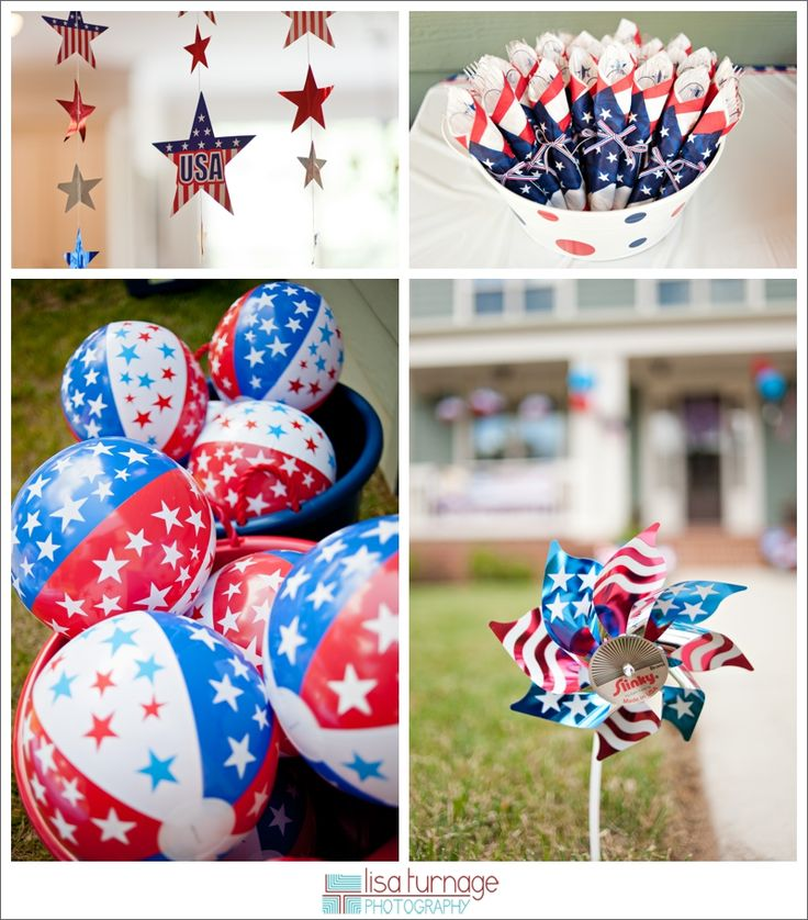 Red, white & blue birthday bash