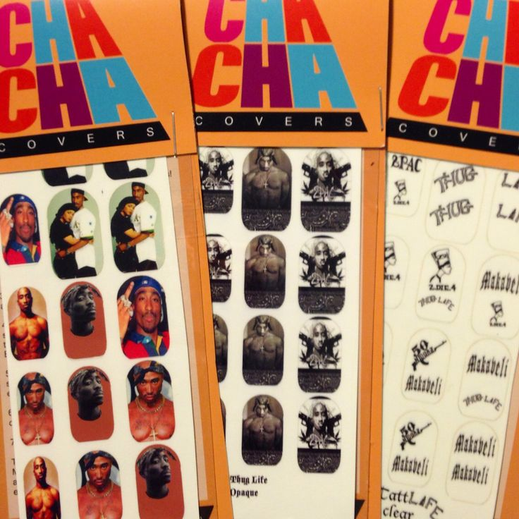 TUPAC SHAKUR California Love 3 pack set Nail Decals by chachacovers on Etsy https://www.etsy.com/listing/205745868/tupac-shakur-california-love-3-pack-set