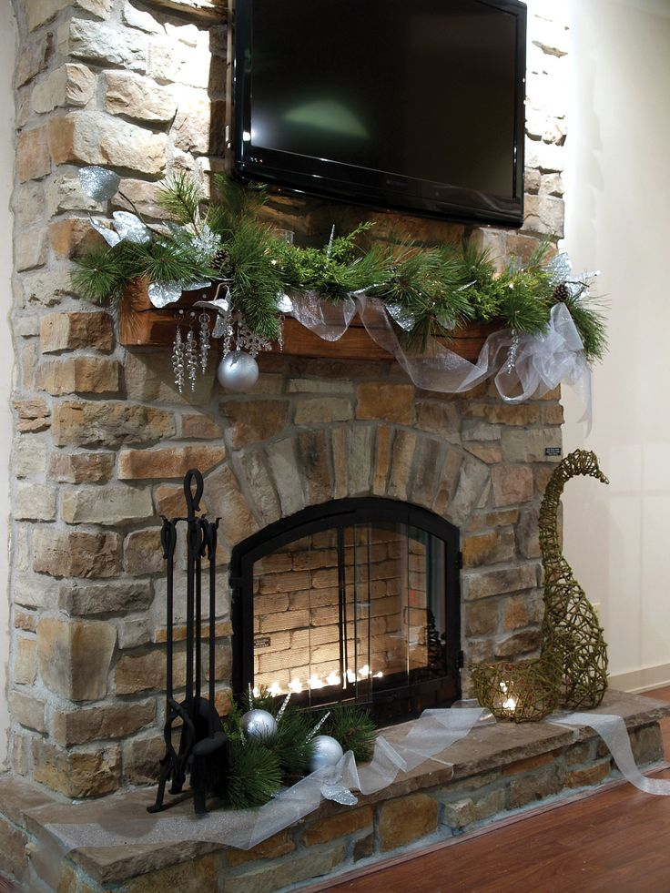 images of stone veneer fireplaces | Stone fireplace ideas ...