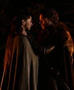 Robb Stark marries Talisa Maeyre
