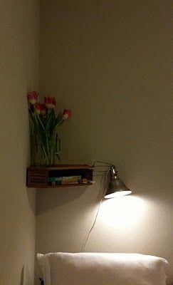 Corner Shelf out of Magazine Holder: Magazine Rack, Shelf Idea, Living Room, 1St Birthday, Small Bedroom, Corner Shelves, Corner Shelf, Bedroom Ideas
