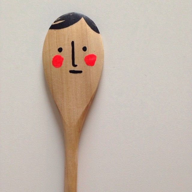 .@mer_mag | We made the ever classic spoon man today. Always a fav...