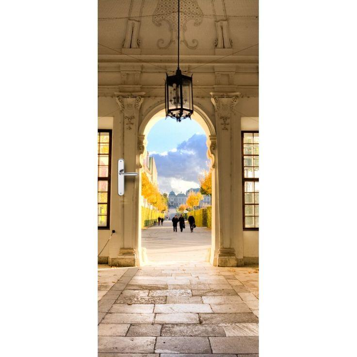Deursticker Belvedere | Een deursticker is precies wat zo'n saaie deur nodig heeft! YouPri biedt deurstickers zowel mat als glanzend aan en ze zijn allemaal weerbestendig! Verkrijgbaar in verschillende afmetingen.   #deurstickers #deursticker #sticker #stickers #interieur #interieurprint #interieurdesign #foto #afbeelding #design #diy #weerbestendig #belvedere #italie #poort #ingang #architectuur #italiaans