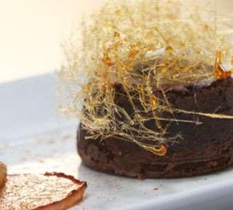 Deena: Chocolate Fondant with Amarula Crème Anglaise and Caramelised Pears | Recipes | Masterchef South Africa | SA Reality TV Show