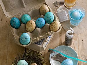 Robin's Egg Blue Speckled Eggs | Southern Living