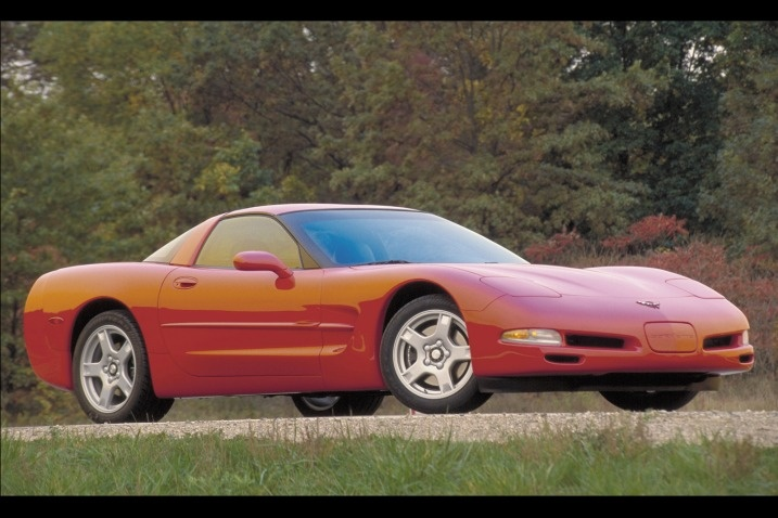 5. 1997 Corvette C5: A Corvette that could be used every day in comfort. First to feature the brilliant LS-series small-block V8.