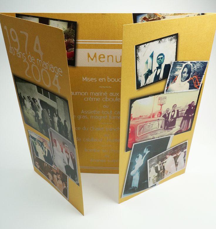 Pli fenêtre et impression avec encre blanche sur papier Curious Mettalics Digital Super Gold. #encre #blanche #doré #gold