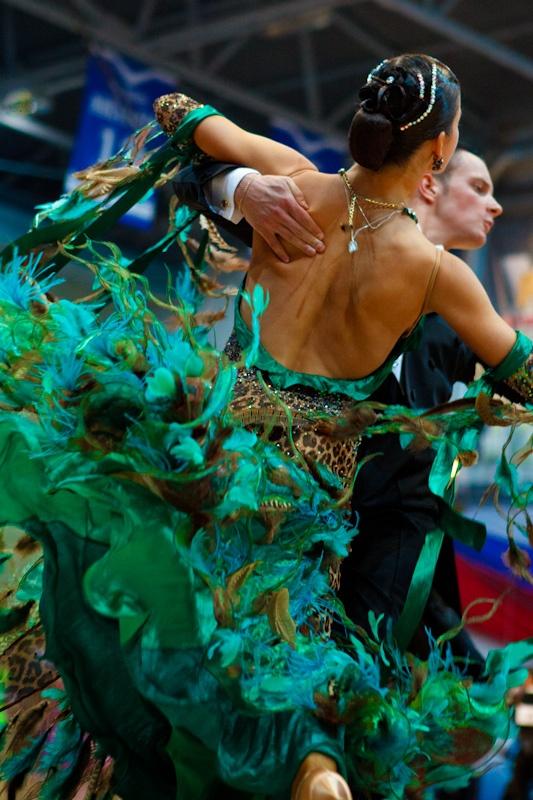 amateur ballroom dancers