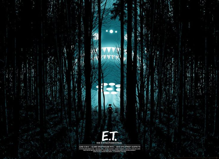 "The first ""Summer of 1982″ Mondo poster for E.T. has been unveiled"