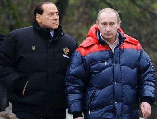 Silvio Berlusconi, Vladimir Putin