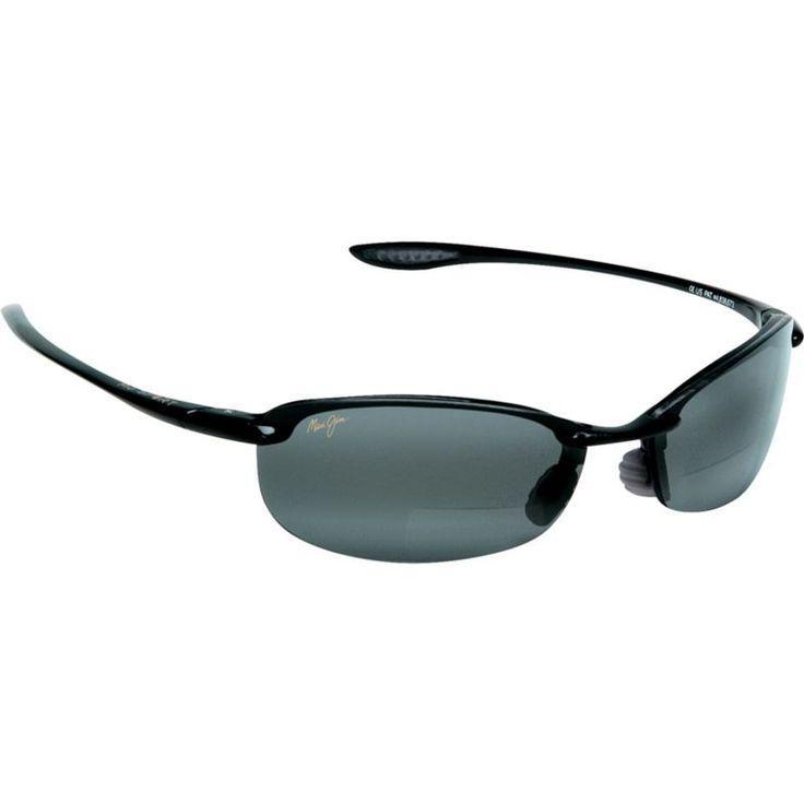 Maui Jim Makaha Reader +250 Polarized Sunglasses, Gloss Black/Grey