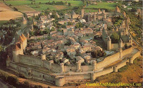 Cité, Carcassonne, Languedoc, France…