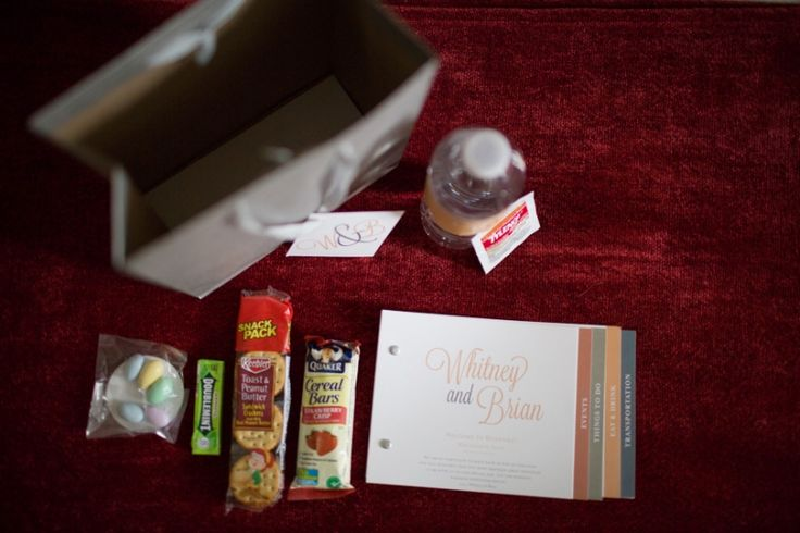DIY : Wedding Goody Bags » Carly Arnwine Photography
