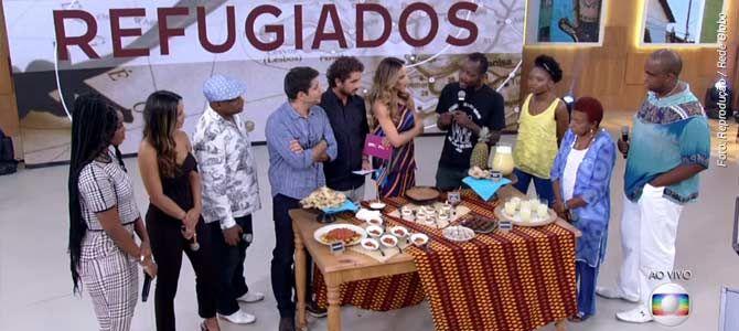 Vista-se | Programa Encontro entrevista refugiado congolês que trabalha com comida vegana em São Paulo
